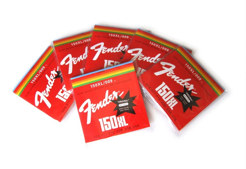 Electric Fender(Red) Guitar String