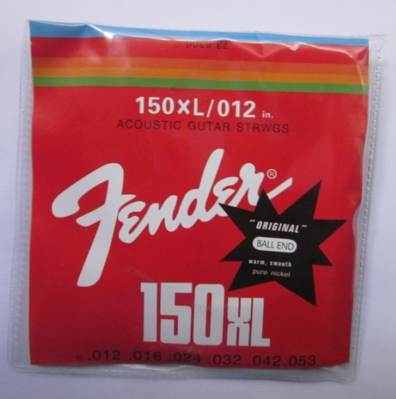 Acoustic Fender Guitar String