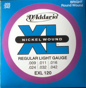 Electric DAddario Guitar String(009)