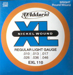 Electric DAddario Guitar String(010)