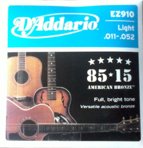 Acoustic DAddario Guitar String(011)