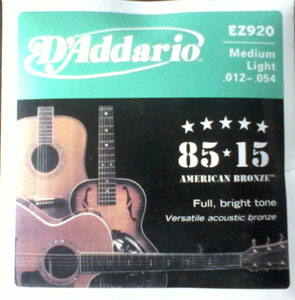 Acoustic DAddario Guitar String(012)
